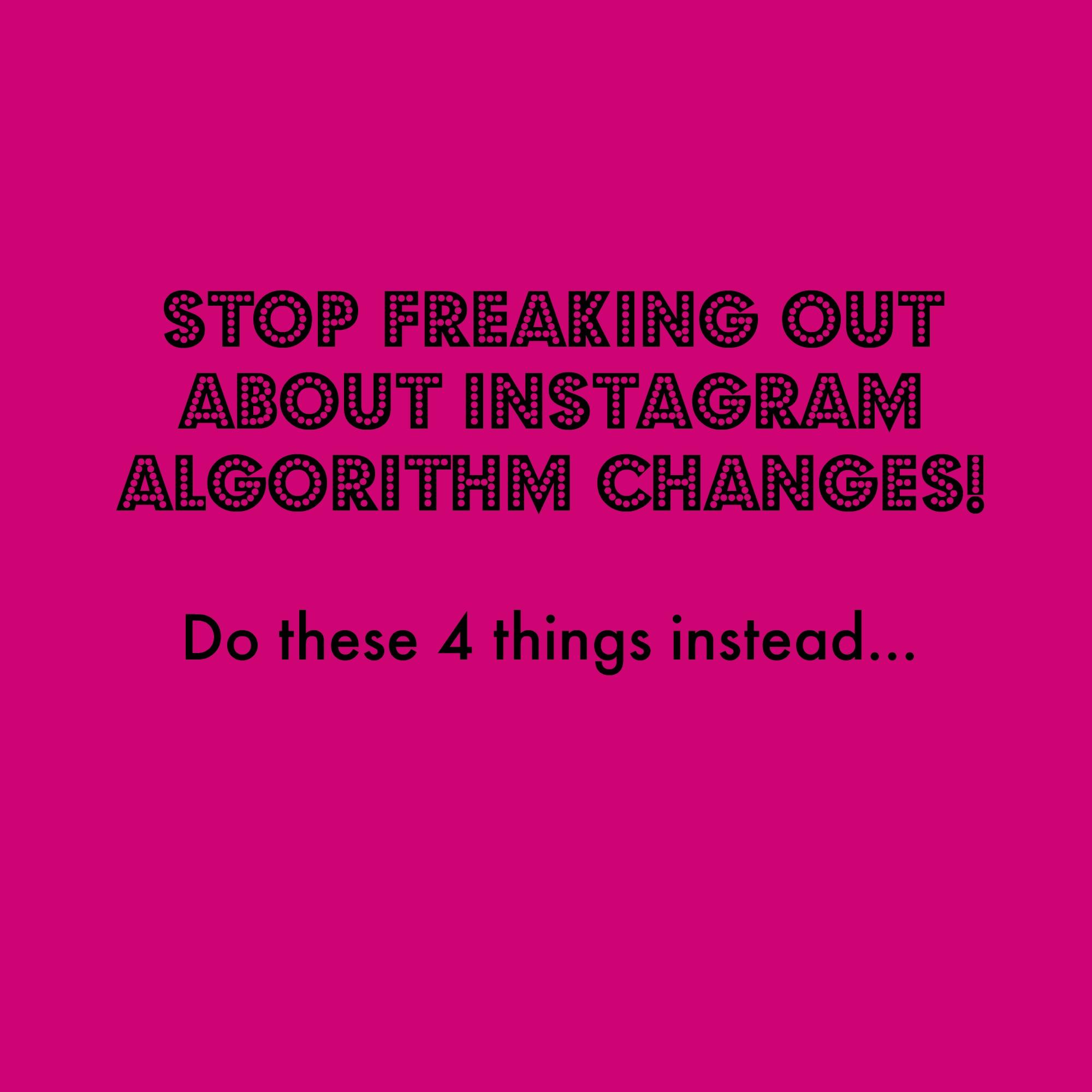 Instagram Freak Out