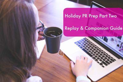 Holiday PR PRep