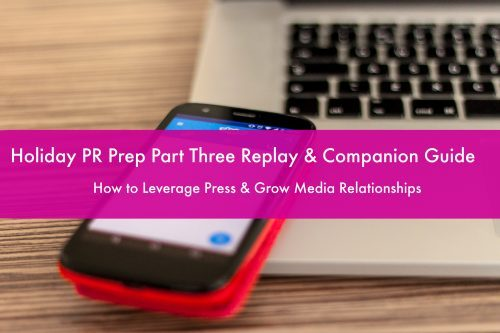 Holiday PR Prep 3 Replay