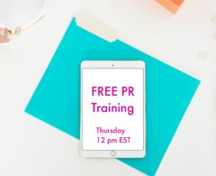 This Week's FREE PR Training: Automation is Your Salvation: Strategies to Streamline Your PR, Social Media, & Newsletter