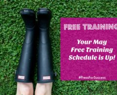 Get Fired Up: The May Free Training Schedule is Here!