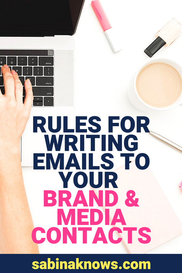 Breaking into the world of public relations and media relationship building can be scary. What do you write in an email to your media contacts and to brands? I've got all the PR rules right here!