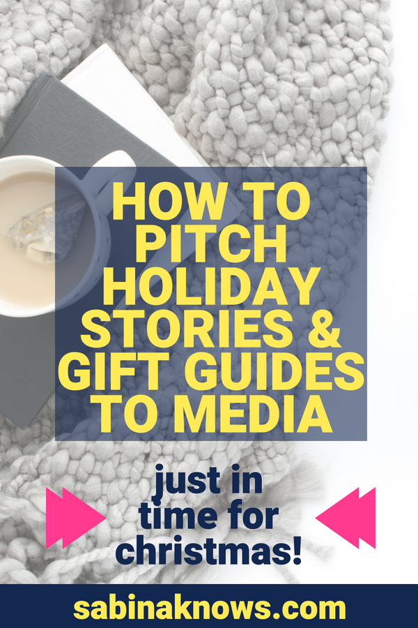 How to pitch holiday stories and gift guides in time for Christmas!