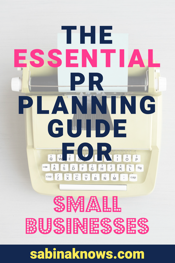 PR planning is important, but once you begin, you wonder what to do to ensure your public relations work is high impact - without the big workload. PR | pr planning | pr guide | public relations | pr work | pr small businesses