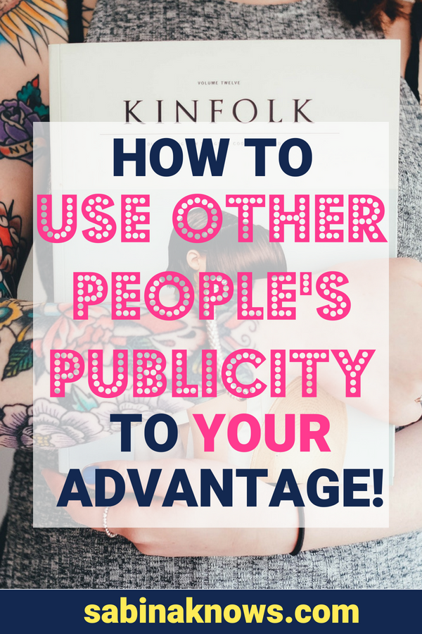 There's a trick to not being jealous when someone else gets press: Just use it to your advantage! Here's how to make the most of their success. PR | publicity | press | opportunity | silver lining