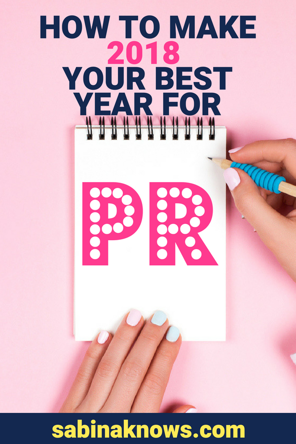 Publicity success is totally within your grasp! Here's why and how you can have major PR wins in 2018!