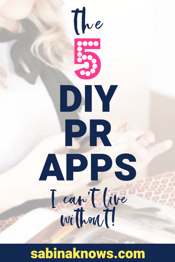 PR apps are a lifesaver. Public relations work and outreach involves multiple steps and tasks, from research to pitch and image creation to organization.
