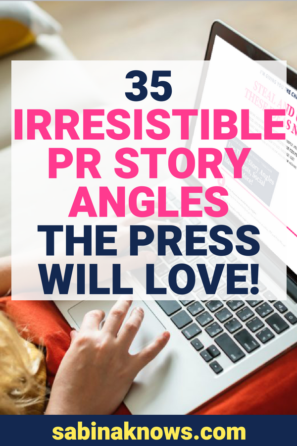 Do you want to reach out to the press for some powerful publicity about your business but you're not sure where to begin? What about some email subject line inspiration and pitch angles that the media will find irresistible? Grab these free PR story angle ideas!