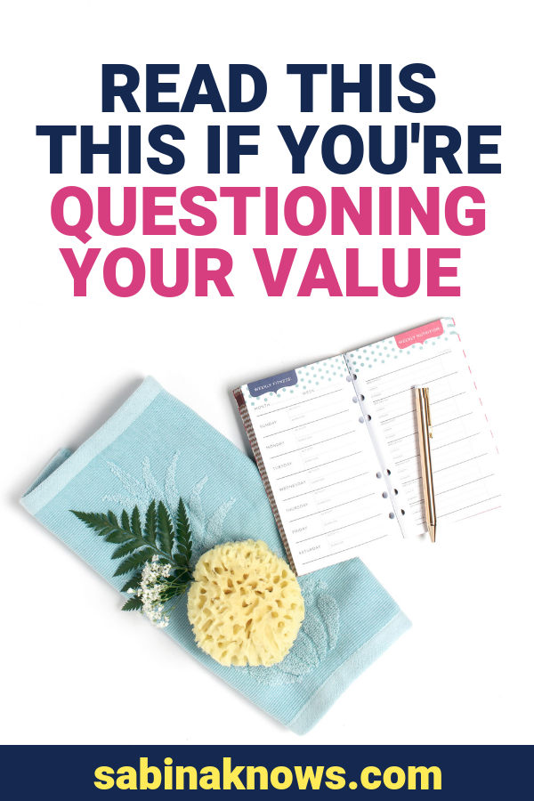 Despite all the hard work of running a business, I've always found that the most challenging parts are mental, and more specifically, are the moments when you're dealing with self-doubt or questioning the value of your work. #value #selfcare #selftalk
